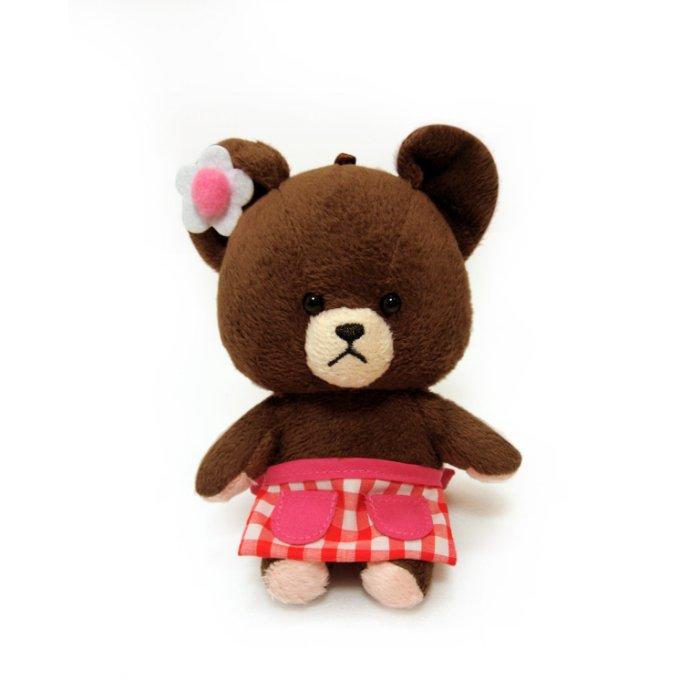【禾宜精品】小熊學校 10 cm 傑琪 (圍裙) 吊飾 玩偶 療癒商品 生活百貨 B102032-I