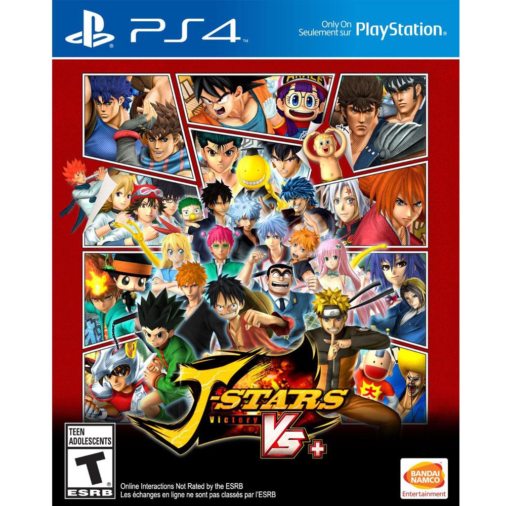 PS4 J 群星 勝利對決+ 英日文美版 J-Stars Victory VS +