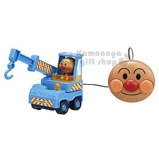 〔小禮堂嬰幼館〕麵包超人 吊車線控玩具《藍.大臉》增添親子間的親密度