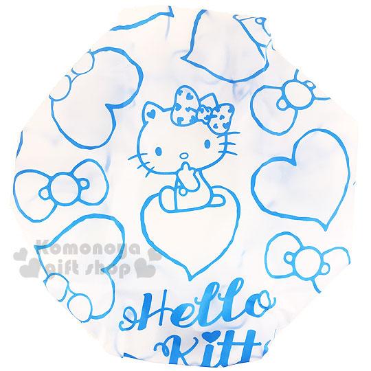 〔小礼堂〕hello kitty 浴帽《蓝.坐姿.爱心.蝴蝶结》