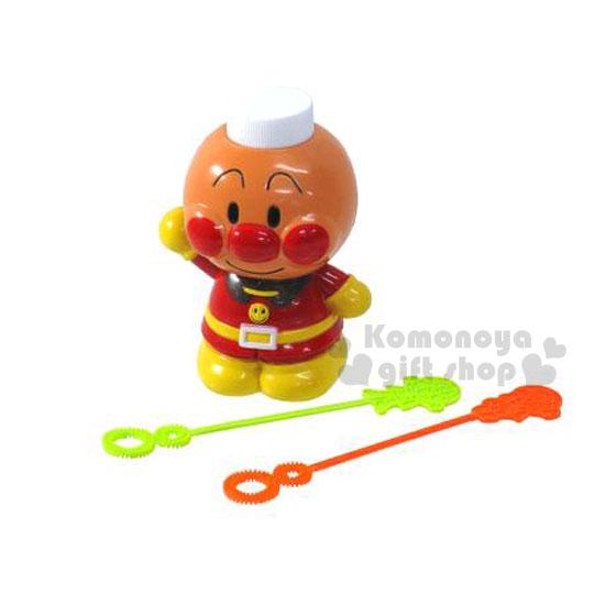 〔小禮堂嬰幼館〕麵包超人 吹泡泡玩具《橘黃.站姿》適合3歲以上兒童