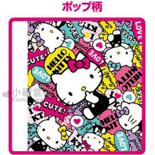 〔小禮堂〕Hello Kitty 嬰兒車安全帶套《繽紛.側坐.吸手指》增加美觀及舒適感