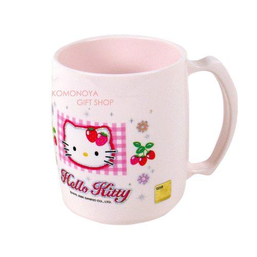 〔小禮堂韓國館〕Hello Kitty 漱口杯《大.粉紅.草莓》輕鬆美化室內空間