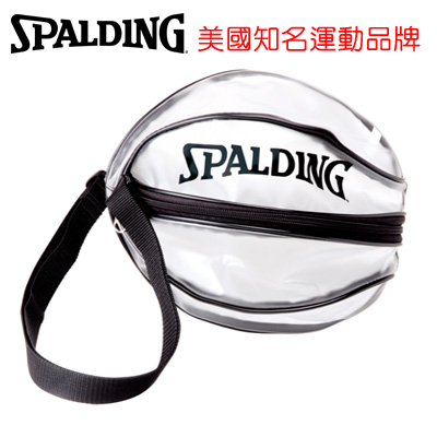 永昌文具【SPALDING】 斯伯丁 袋類系列 SPB5309N00 單顆裝籃球瓢蟲袋(黑) /個