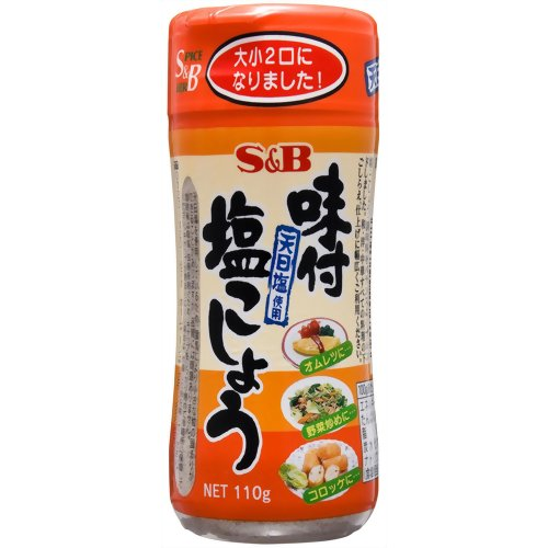 SB味付胡椒鹽(110g) エスビー 味付塩こしょう