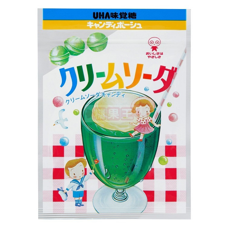 日本糖果 UHA味覺糖 蘇打糖