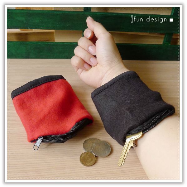 【aife life】手腕收納袋/拉鍊手腕包/手腕零錢包/小物收納袋/護腕/鑰匙包/手腕套/收納包/運動手腕袋