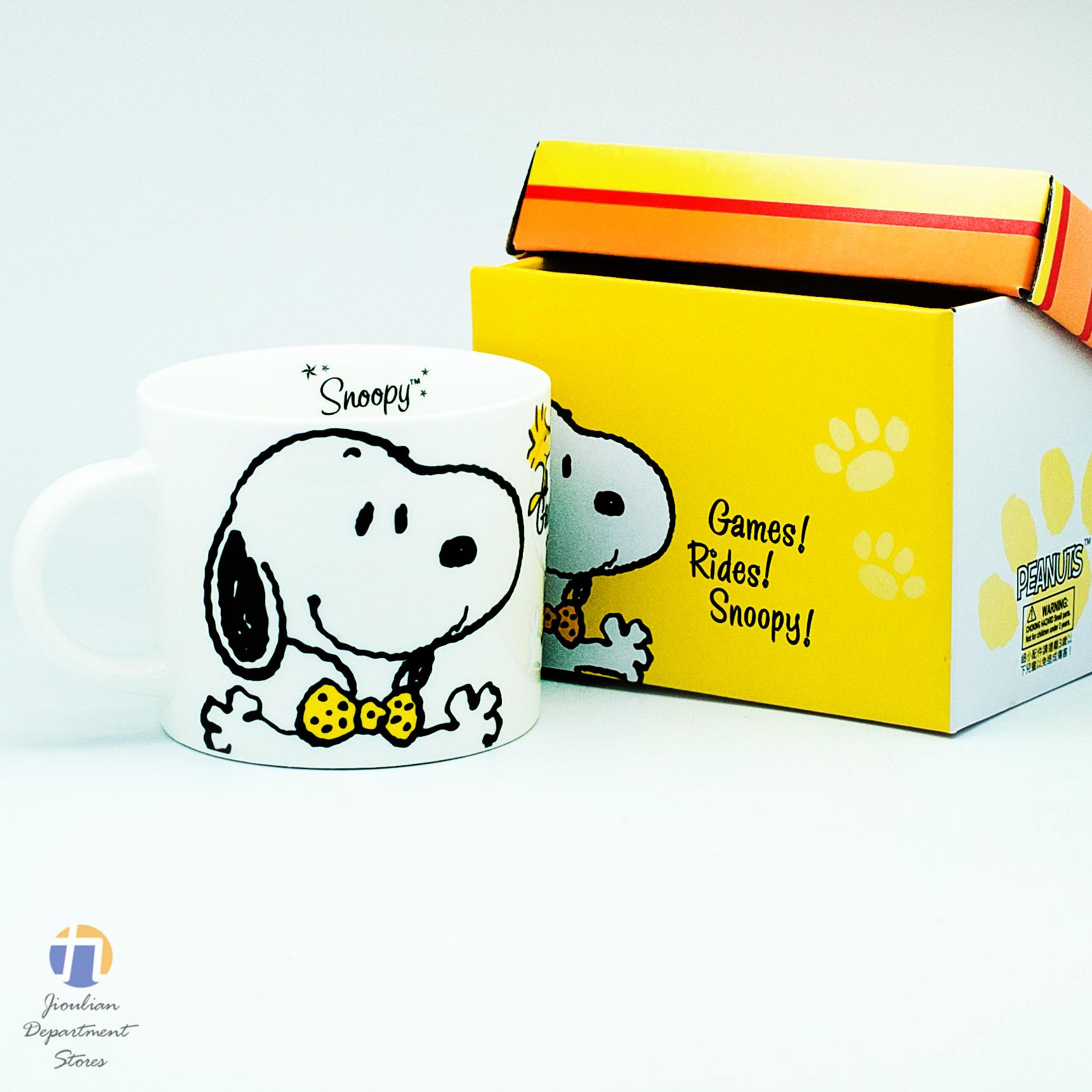 {九聯百貨} 史努比 Snoopy 領結湯杯 420cc (sp-a011e)