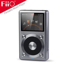 志達電子 X3 II FiiO 專業隨身無損音樂播放器 原生DSD硬解 隨身訊源/音響DAC小前級/可搭配E17K/E12耳擴 Sennheiser/AKG/鐵三角等高階耳機