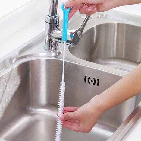 加長可彎曲排水管疏通清理刷《71cm》 【隨機出貨不挑色】