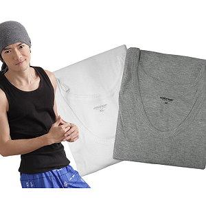 波波小百合【N Z 611】男 背心 吸濕排汗內衣 貼身舒適 2件一組220 台灣製