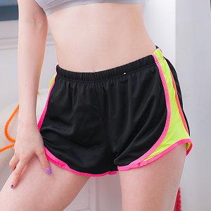 波波小百合美【N X 90】女糖果色透氣運動短褲 跑步短褲 瑜伽短褲 吸濕排汗 快乾 超輕
