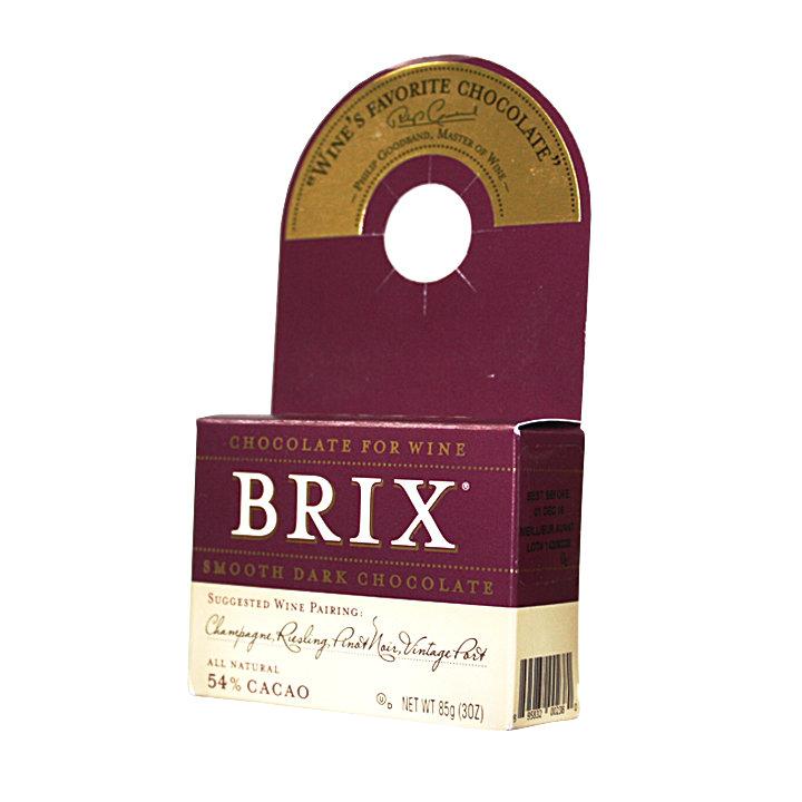 《ibeauty愛美麗》BRIX 巧克力 美國 取代起司的紅酒巧克力 54%可可粉