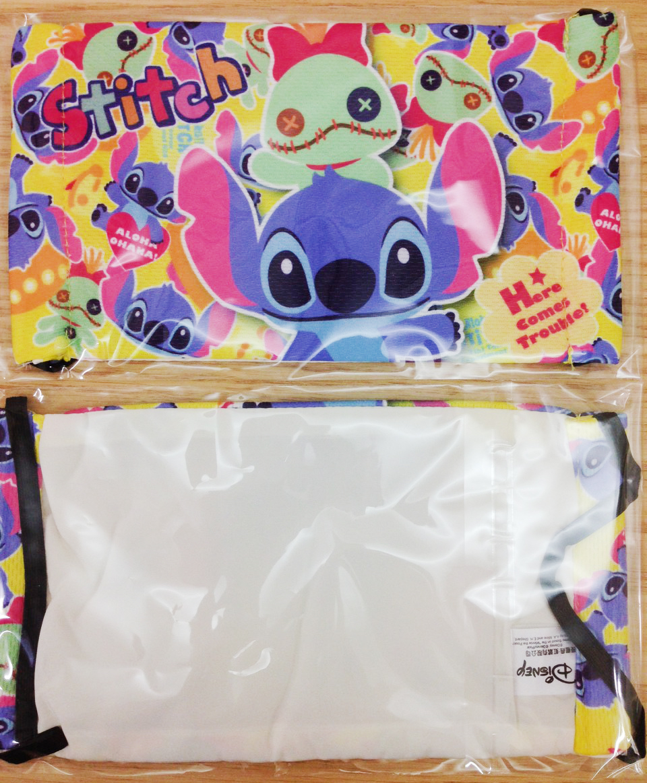 【真愛日本】15110500019舒適布質口罩-花板史迪奇  迪士尼 星際寶貝 史迪奇 正品