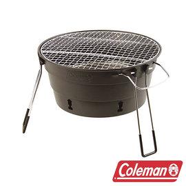 Coleman PACKWAY烤肉爐II/黑 CM-27319 烤肉架│炊事│燒烤│露營│戶外│休?