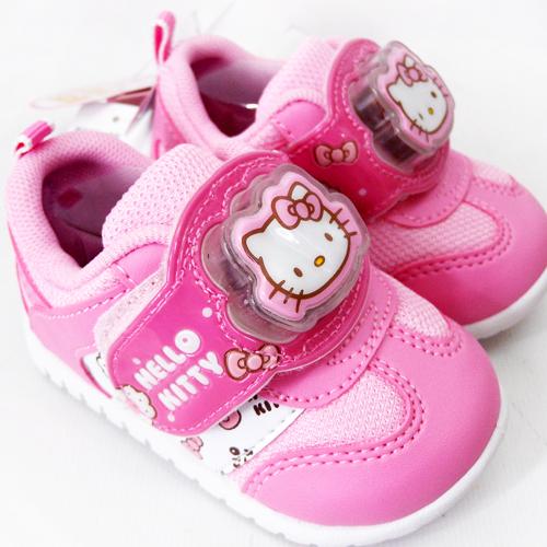 【真愛日本】童鞋715115-粉16  三麗鷗 Hello Kitty 凱蒂貓 童鞋 步鞋 正品