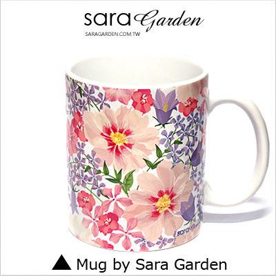 (24H) 客製 質感 彩繪 馬克杯 Mug 馬卡龍 清新 雛菊 咖啡杯 陶瓷杯 杯子 Sara Garden 品牌手作【M0320002】