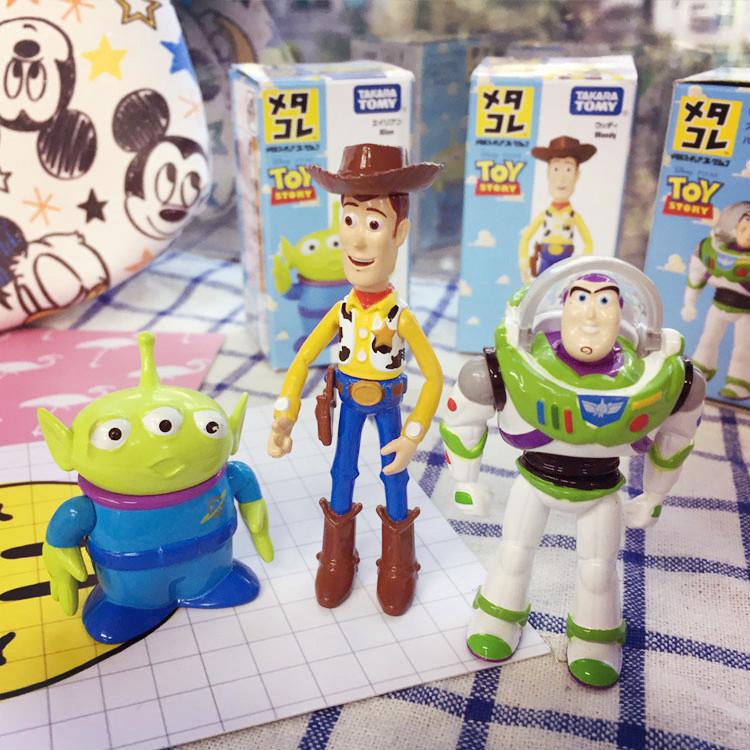 PGS7 (現貨+預購) 日本迪士尼系列商品 - 迪士尼 玩具總動員 公仔 玩偶 胡迪 巴斯光年 三眼怪 Tomica 多美