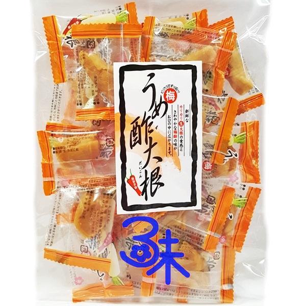 (日本) 石灣梅汁蘿蔔乾-辣味 1包 100 公克 特價 153 元【4995257980075 】