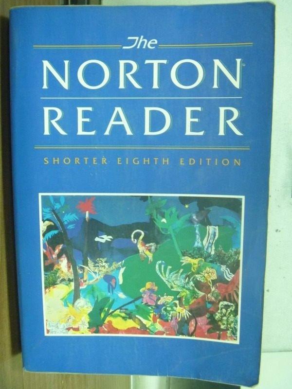 【書寶二手書T2/原文小說_MNV】The Norton Reader