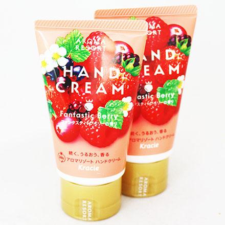 【敵富朗超巿】Kracie葵緹亞度假風香氛護手霜-鮮甜莓果