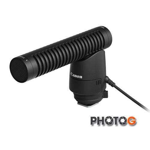 Canon 原廠 DM-E1 dme1 定向式 立體聲 麥克風 單眼專用 指向性 收音麥克風 (彩虹公司貨; 1DX/ 5D4/5D3/5Ds/5Dsr/760D/750D/M3/M5)