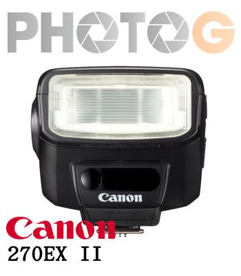 Canon SpeedLite 270EX II 閃光燈 270EX2  (彩虹公司貨)
