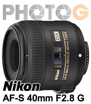 Nikon AF-S DX Micro 40mm F2.8 G 廣角 定焦鏡 微距鏡頭 40F2.8 (國祥公司貨)