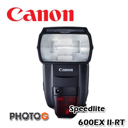 Canon Speedlite 600EX II-RT 600exii 閃光燈 (1DX mK2, G1X,600D,60D,5D3,1D,7D,7DII,70D,彩虹公司貨)