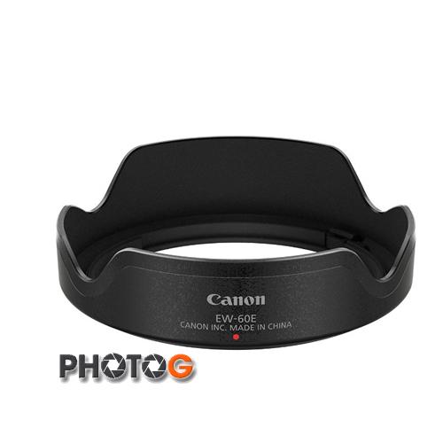 Canon EW-60E ew60e 原廠遮光罩 EF-M 11-22 mm f 4-5.6 STM 廣角鏡頭專用 (公司貨)