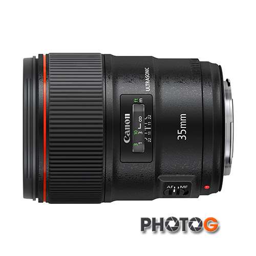 Canon EF 35mm F1.4L II  USM 廣角鏡頭(35 1.4 II ;彩虹公司貨)