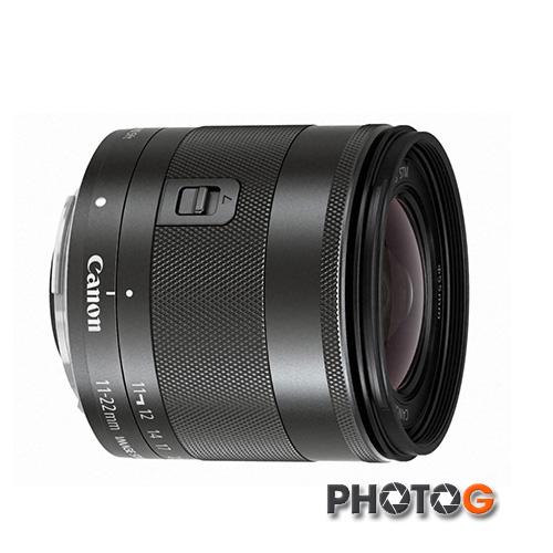 『隨貨送 鏡頭三寶』Canon EF-M 11-22 / 11-22mm F4/-5.6 IS STM 廣角變焦鏡頭( 1122 ;彩虹公司貨)