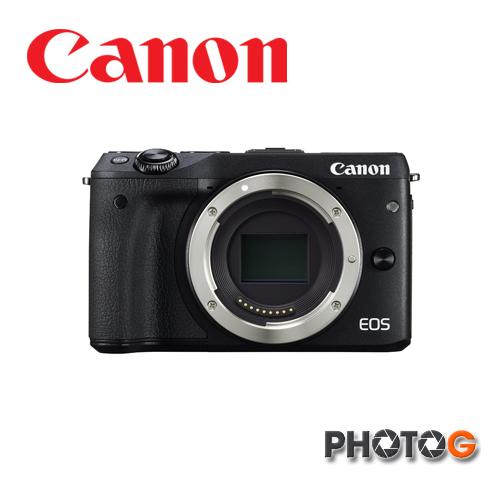 Canon EOS M III  body  單機版  不含鏡頭 M3 + 一機一鏡包+32G+清潔組+保護貼 + 縫卡+EQ-330腳架  彩虹公司貨 eosm3   【11/1/11/30 申請送 Canon原廠相機包+LP-E17原廠電池】 (公司貨)