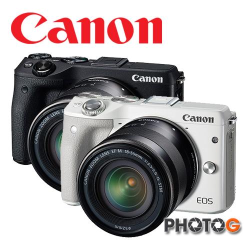 Canon EOS M III + 15-45  單鏡組 M3   彩虹公司貨 eosm3  送 SD32G+清潔組 【11/1/11/30 申請送 Canon原廠相機包+LP-E17原廠電池】 (公司貨)