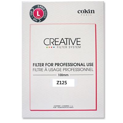 COKIN cokin 高堅 Z125  Z -PRO L HORD 短切 中性 漸變 褐色漸層方形濾鏡 100x150 適用 135 全幅機 或超廣角鏡頭 ( z125;nd8;協榮豐公司貨)