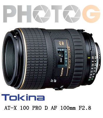 TOKINA AT-X M100 PRO D 中望遠微距鏡頭(100 2.8;立福公司貨,二年保固 )【Canon、Nikon】