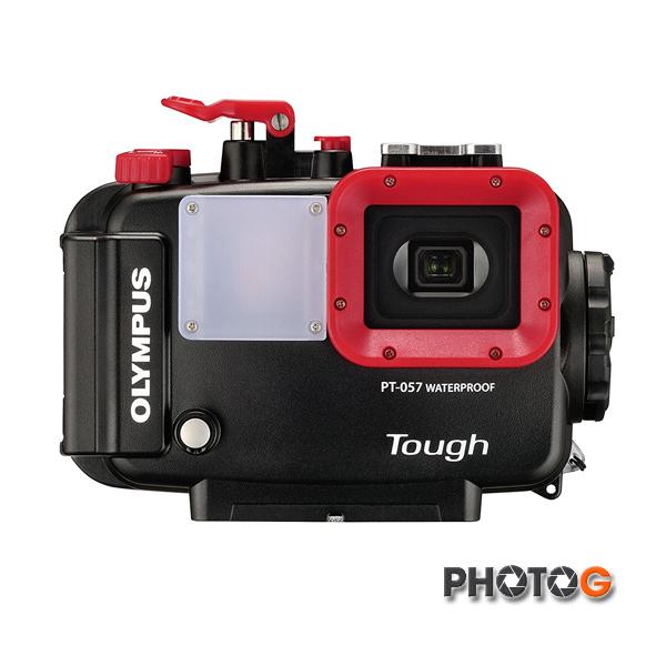 Olympus PT057 PT-057 TG850 TG860 TG870 專用潛水殼 防水盒 可耐水壓 45米深 (元佑公司貨)