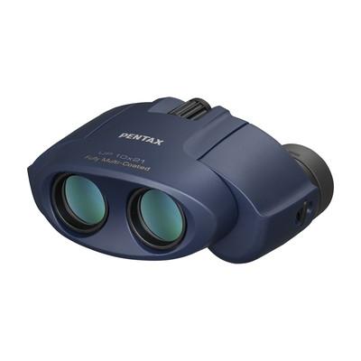 PENTAX UP 10x21 雙筒望遠鏡 藍色  (富堃公司貨) 另有 黑色 粉紅色