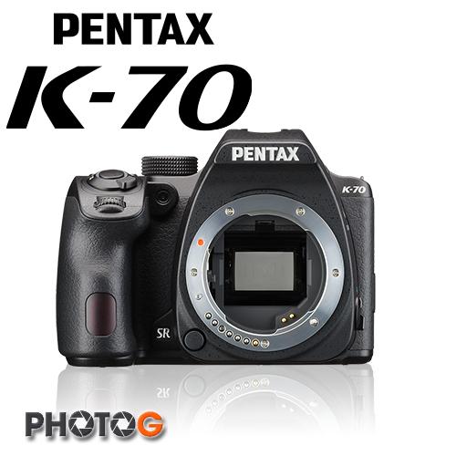 PENTAX K-70 K70 + 18-55mm  WR 鏡頭  數位單眼相機   ,防滴防塵 高感度 耐寒 富堃公司貨)