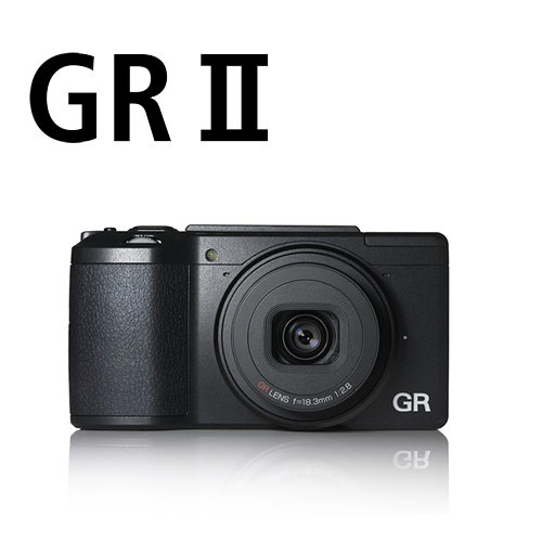 Ricoh ( PENTAX ) GR II GR2 數位相機  APS-C 感光元件 高畫質 大光圈 定焦(富堃公司貨)