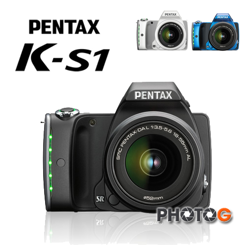 PENTAX K-S1 數位單眼相機 含DAL18-55 鏡頭(KS1 kit, 富?公司貨)