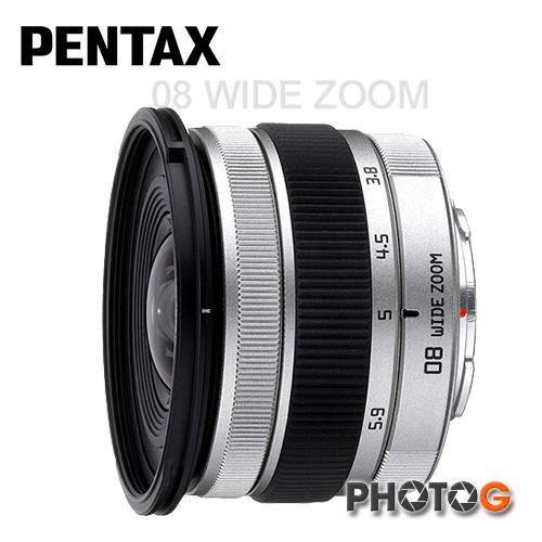 PENTAX Q  3.8-5.9 mm F3.7-4 超廣角變焦鏡頭 08 WIDE ZOOM (富?公司貨一年保固)