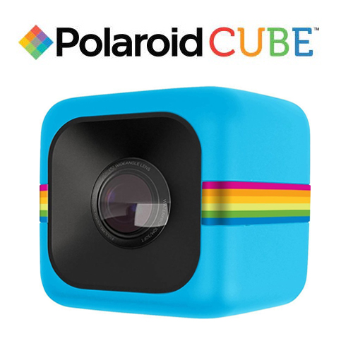 Polaroid POLC3 Cube HD 微型生活 行動 數位 攝影機  Video  Blue (國祥公司貨)