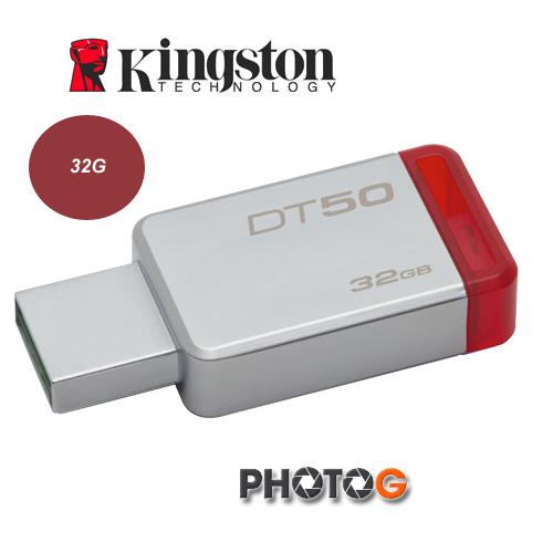 KingSton 金士頓  32G / 32GB  dt50 DataTraveler 50 USB3.1 相容 USB3.0 隨身碟 DT50/32G (免運費)