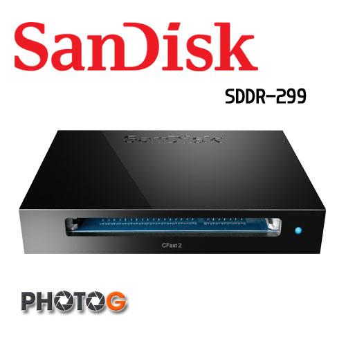 SANDISK EXTREME PRO® CFAST™ 2.0 讀卡機 / 寫入器 USB 3.0 ( SDDR-299  sddr299 cfast  讀取速度: 最高可達 500 MB  公司貨)