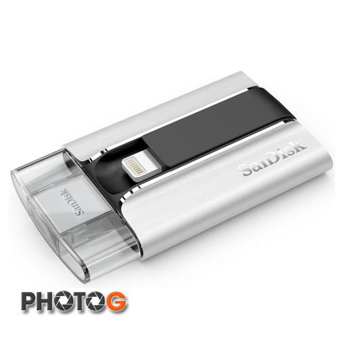 SanDisk iXpand  16G 16GB SDIX - 016G 快閃磁碟機 (適用於 iPhone 及 iPad 的 iXpand) 群光公司貨