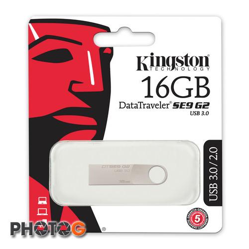 KingSton 金士頓 DataTraveler SE9 G2 USB 3.0 16GB 16G 金屬  隨身碟 USB3.0 DTSE9G2  (五年保固)