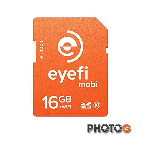 Eye-Fi 16G 16GB SD SDHC mobi Class 10 無線傳輸 記憶卡 EyeFi eye fi (富? 公司貨)