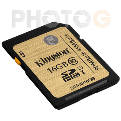 Kingston SDA10 Ultimate SDHC 16GB class 10 UHS-I 讀90mb/S 寫45mb/s 終身保固