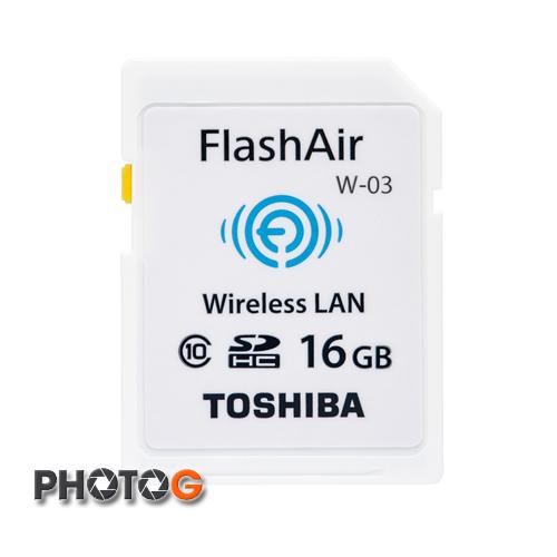 TOSHIBA SDHC 16GB Class 10  WIFI W03 第三代記憶卡  ( wifi ,富基公司貨)